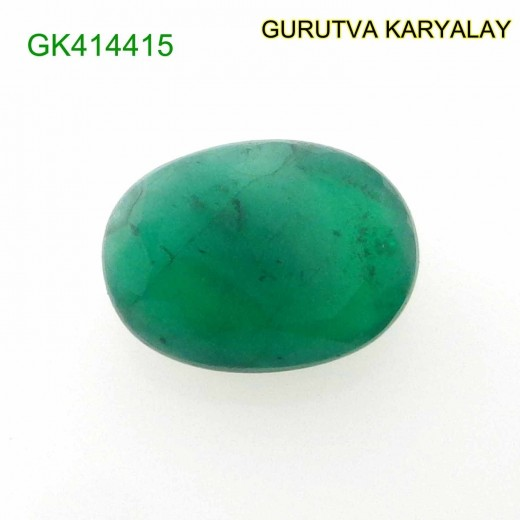 Ratti-4.01 (3.63 CT) Natural Green Emerald